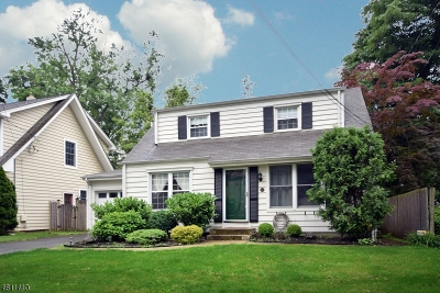 Scotch Plains Twp. Single Family Home For Sale: 232 Byrd Ave