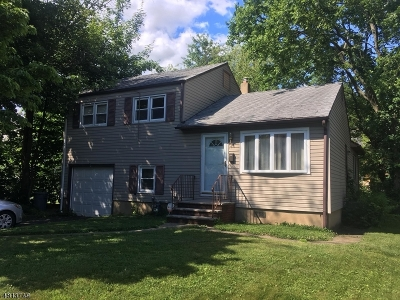 Scotch Plains Twp. Single Family Home For Sale: 411 Myrtle Ave