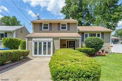 Woodbridge Twp. Single Family Home For Sale: 114 Carolyn Ave