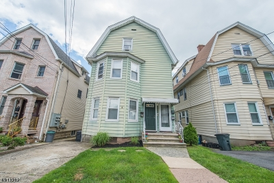 Nutley Twp. Multi Family Home For Sale: 427 Centre St