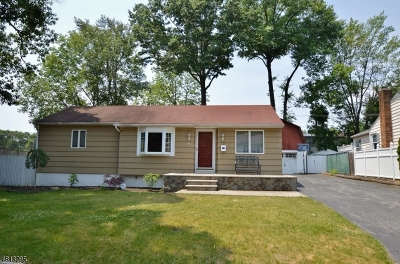 Parsippany-Troy Hills Twp. Single Family Home For Sale: 1 Nokomis Ave