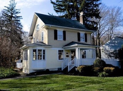 WESTFIELD Single Family Home For Sale: 912 Rahway Ave