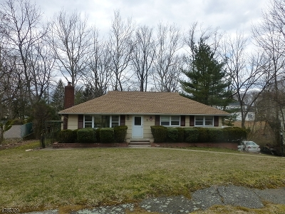 Livingston Twp. Single Family Home For Sale: 8 Rale Ter