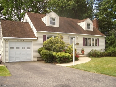 Fanwood Boro Single Family Home For Sale: 422 South Ave