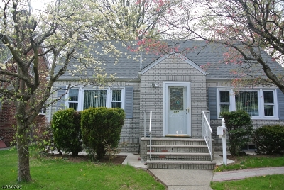 Nutley Twp. Single Family Home For Sale: 277 Prospect St