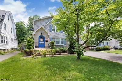 Cranford Twp. Single Family Home For Sale: 331 Walnut Ave
