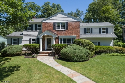 Millburn Twp. Single Family Home For Sale: 34 Byron Rd