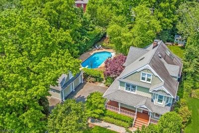 Millburn Twp. Single Family Home For Sale: 15 Marion Ave