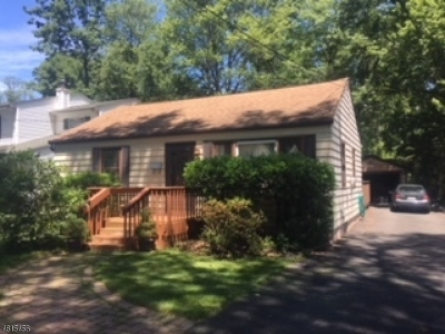 Parsippany-Troy Hills Twp. Single Family Home For Sale: 109 Minnehaha Blvd