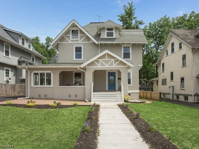 Montclair Twp. Single Family Home For Sale: 47 Brunswick Rd