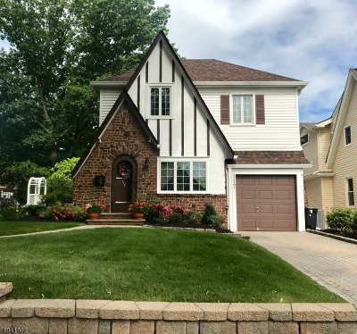 Nutley Twp. Single Family Home For Sale: 117 North Rd