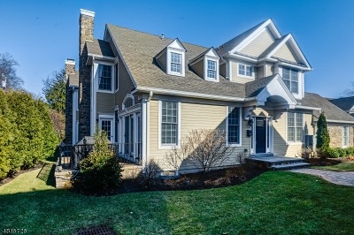 Millburn Twp. Condo/Townhouse For Sale: 19 Woodstone Circle