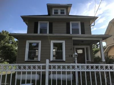 Hillside Twp. Single Family Home For Sale: 18 Cedar St
