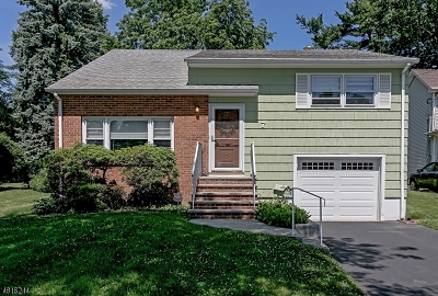 Fanwood Boro Single Family Home For Sale: 7 Tillotson Rd