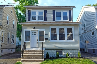 Maplewood Twp. Single Family Home For Sale: 220 Laurel Ave