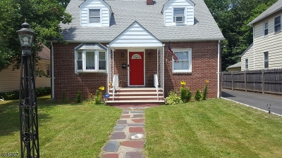 Roselle Boro Single Family Home For Sale: 142 W 9th Ave