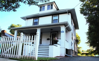 Boonton Town Single Family Home For Sale: 157 Kanouse St
