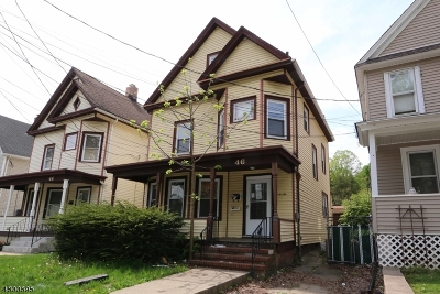 Morristown Town Multi Family Home For Sale: 46 Harrison St