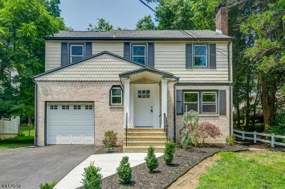 West Orange Twp. Single Family Home For Sale: 1 Roosevelt Ave