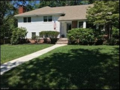 Scotch Plains Twp. Single Family Home For Sale: 1957 Duncan Dr