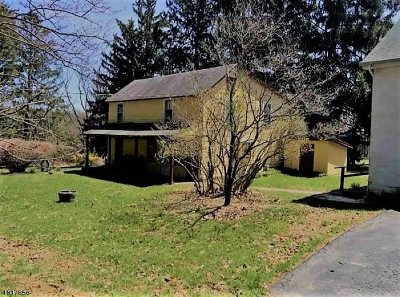 Union Twp. Single Family Home For Sale: 49 Cooks Cross Rd
