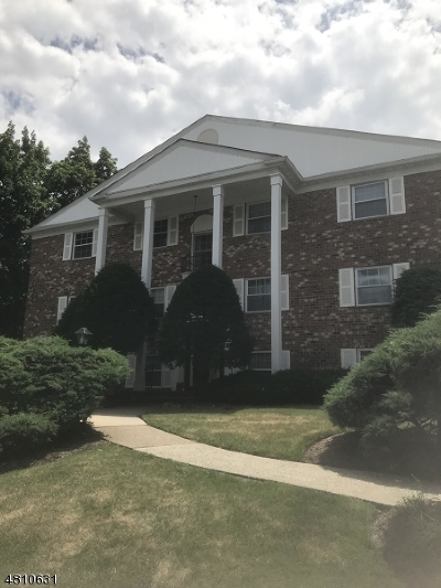 Morristown Town NJ Condo/Townhouse For Sale: $185,000