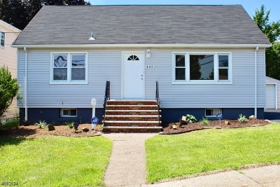 Paterson City Single Family Home For Sale: 443-449 Preakness Ave
