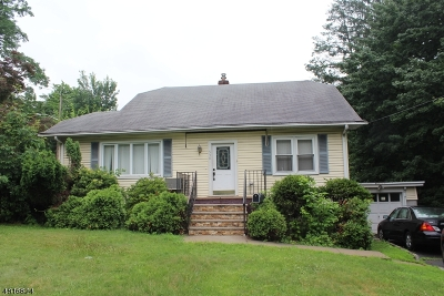 West Orange Twp. Single Family Home For Sale: 530 Eagle Rock Ave