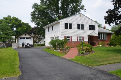 Parsippany-Troy Hills Twp. Single Family Home For Sale: 127 Northfield Rd