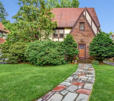 South Orange Village Twp. Single Family Home For Sale: 243 Conway Ct