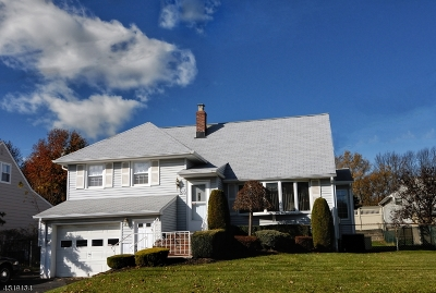 Cranford Twp. Single Family Home For Sale: 24 Mendell Ave