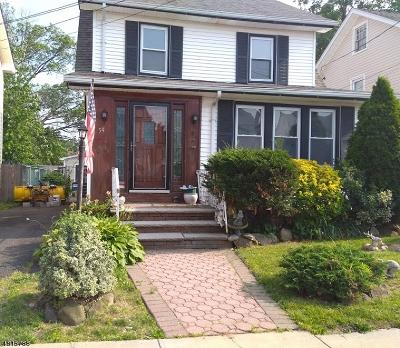 Hillside Twp. Single Family Home For Sale: 54 Mading Ter