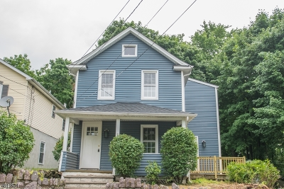 Boonton Town Single Family Home For Sale: 1211 Birch St
