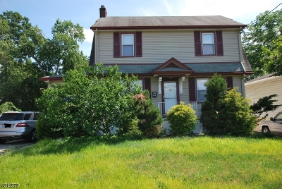 West Orange Twp. Single Family Home For Sale: 602 Eagle Rock Ave