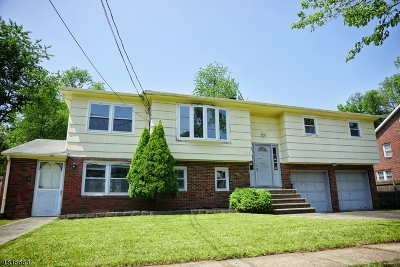 Scotch Plains Twp. Single Family Home For Sale: 228 Watchung Ter