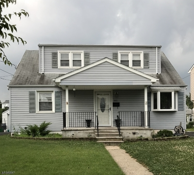 LINDEN Single Family Home Active Under Contract: 811 Ercama St