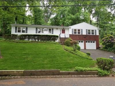 Mountainside Boro Single Family Home For Sale: 1097 Sylvan Ln