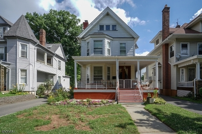 Rahway City Single Family Home For Sale: 311 W Milton Ave