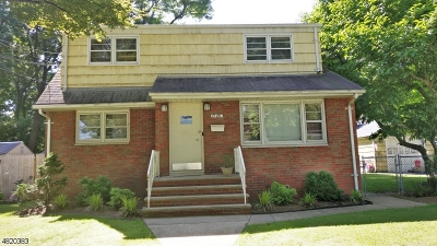 Rahway City Multi Family Home For Sale