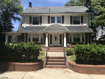 Paterson City Single Family Home For Sale: 403-405 18th Ave