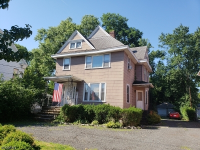 RAHWAY Single Family Home For Sale: 520 W Grand Ave