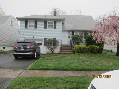Clifton City NJ Single Family Home For Sale: $326,500