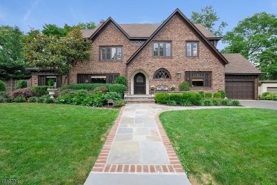 South Orange Village Twp. Single Family Home For Sale: 345 Beech Spring Rd