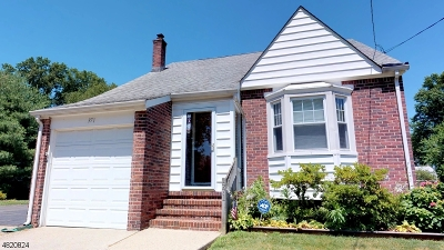 RAHWAY Single Family Home For Sale: 971 Ross St