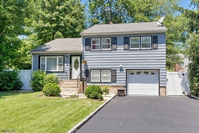 RAHWAY Single Family Home For Sale: 2404 Hulick Pl