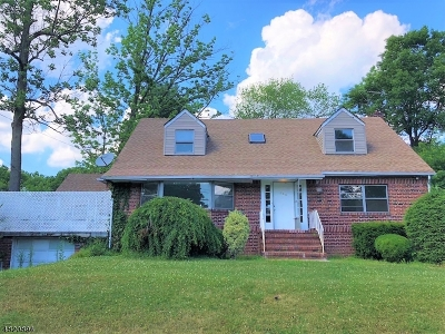 Parsippany-Troy Hills Twp. Single Family Home For Sale: 190 Hiawatha Blvd