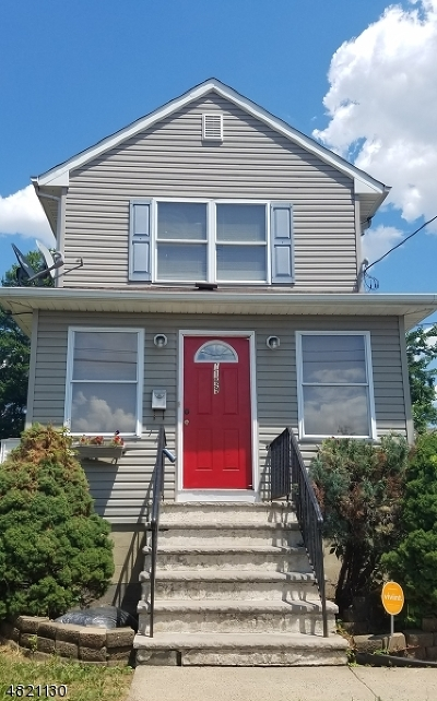 RAHWAY Single Family Home Active Under Contract: 1199 Whelan Pl