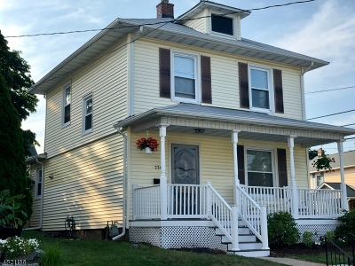 Boonton Town Single Family Home For Sale: 236 Green St