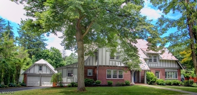 Morristown Town NJ Single Family Home For Sale: $849,000