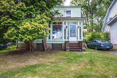 West Orange Twp. Single Family Home For Sale: 345 Gregory Ave
